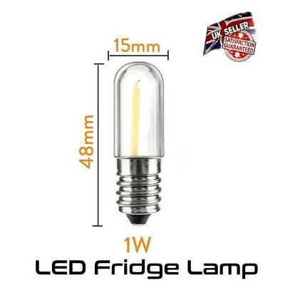 AU6.15 • Buy LED Fridge Lamp 1 Watt Equivalent To 10 Watt - Small Screw E14 *UK Seller*