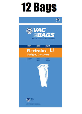 $10.48 • Buy (12) Vacuum Bags For Aerus Electrolux Style U Replacement 4 Ply ProTeam Upright