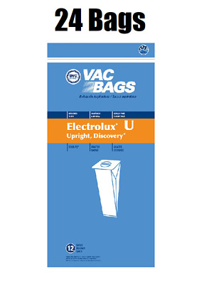$17.50 • Buy (24) Vacuum Bags For Aerus Electrolux Style U Replacement 4 Ply ProTeam Upright