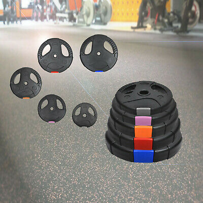 AU40.80 • Buy Standard Weight Plate - Dual Grip Ez Handle PVC Coated Home Gym Barbell Plates