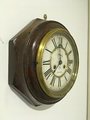 AU400 • Buy Ansonia Rosewood Octagon Lever Clock - 8 Day Time