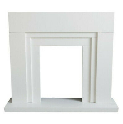 £140 • Buy Innsbruck White Fire Surround Set - Ideal For Electric Inset Fires