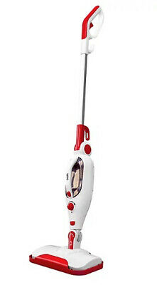 Goblin GSM401R Upright Multifunction 9 In 1 Steam Mop 1300W White & Red • 22.99£