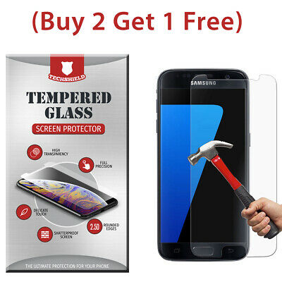 $ CDN3.83 • Buy (2-Pack) Tempered Glass Film Screen Protector For Samsung Galaxy S7