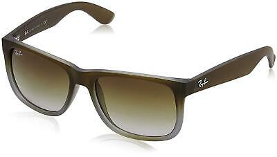 AU99.99 • Buy RayBan Justin Classic Sunglasses - Brown Green Gradient - RB4165 854/7Z 55-16