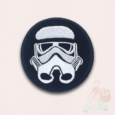 STAR WARS Movies Iron Or Sew On Embroidered Patch - Imperial Storm Trooper  • 1.98£