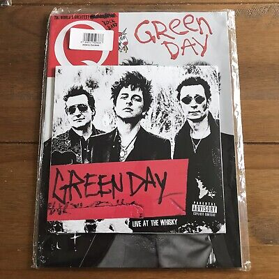 Green Day - Live At The Whisky Father Of All 7  Vinyl Sealed & Q Magazine Sealed • 39.98£