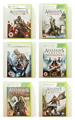 Xbox 360 - Assassins Creed -  Same Day Dispatched - Buy 1 Or Bundle Up - VGC • 6.97£