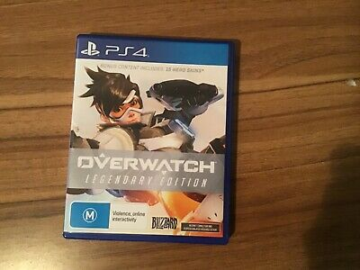 AU34 • Buy Overwatch Ps4 Legendary Edition Used Five Times 15 Heros