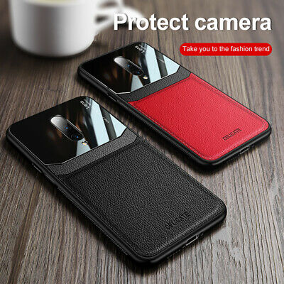 $ CDN6.70 • Buy For OnePlus 8 Pro 7T Pro 7 Pro 6 6T Luxury Mirror Hybrid Leather Back Case Cover