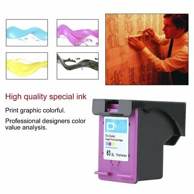 AU32.74 • Buy Non-OEM Ink Cartridge For HP 63 XL For HP 63 Officejet 2620 For ENVY 4500 XL