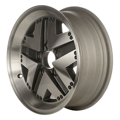 $155.96 • Buy OE Refurbished 15X6 Alloy Wheel Medium Sparkle Charcoal W/Machined Face 01311