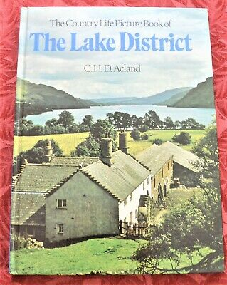 Country Life Picture Book Of The Lake District, C H D Acland. Like New Hardback • 6£