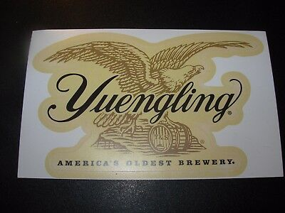 $3.99 • Buy YUENGLING BREWERY Die Cut EAGLE LOGO STICKER Decal Craft Beer Brewing