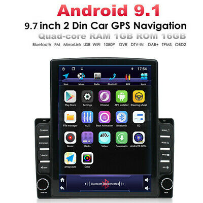 $170.90 • Buy 9.7'' Double 2 DIN Android 9.1 Car Stereo WIFI Radio GPS Navigation Head Unit