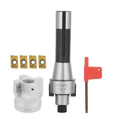 R8FMB22 Shank Face Shell Mill Arbor +400R 50mm Face End Mill Cutter 90° Cutting • 22.49£