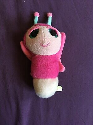 Keel Toys Podlings Pink Butterfly 6  Soft Toy Rare  • 1.99£