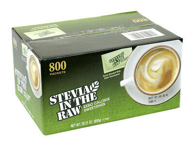 $19.55 • Buy Stevia In The Raw, Packets (800 Ct.) Brand New. Ships Fast