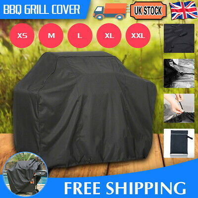 £9.99 • Buy M-xxl Bbq Cover Waterproof Rain Garden Barbecue Grill Heavy Duty Extra Large  Uk