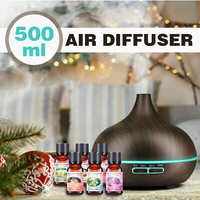 AU26.99 • Buy 550ml Aroma Aromatherapy Diffuser LED Essential Oil Ultrasonic Air Humidifier AU