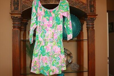 $84.99 • Buy NWT Lilly Pulitzer Lana Skort Stretch Romper  Pop Up Lilly Of The Jungle Size M