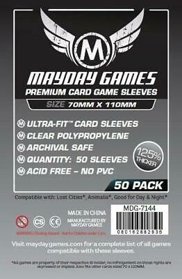 $3.09 • Buy Mayday Boardgame Sleeves Large Card Sleeve Size #2 (50) MINT