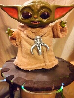 $199.99 • Buy Baby Yoda Ventriloquist Puppet Dummy Doll Star Wars Mandalorian Jedi Collectible