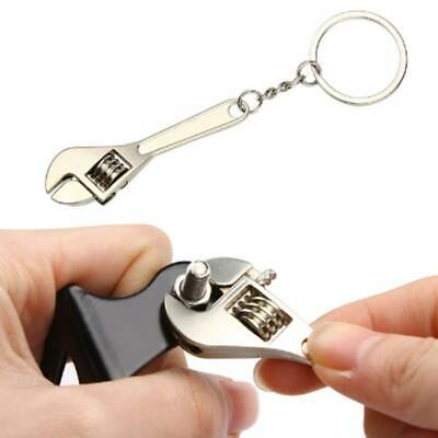 Creative Mini Wrench Spanner Key Chain Ring Keyring Metal Keychain Parts LC • 1.85£