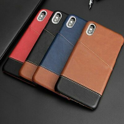 Vintage Retro Phone Case Faux Leather Card Pocket Cover For IPhone 11 X XR XS 8 • 8.32£