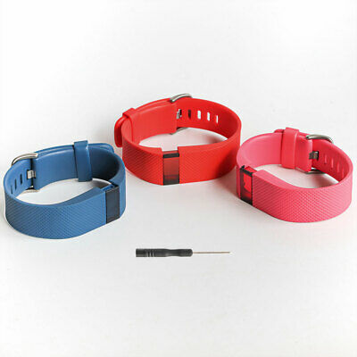 AU10.82 • Buy Original Fitbit Charge HR Wristband Activity Replacement Band Strap Authentic