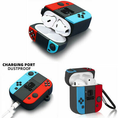 $ CDN4.81 • Buy For Apple AirPods Pro 1/2 Headset NINTENDO SWITCH Silicone Protective Case Cover