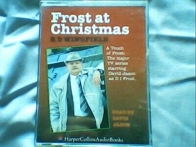 Two Cassette Story  - R D Wingfield - Frost At Christmas Read By David Jason • 4.99£