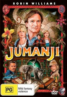 AU15.75 • Buy NEW Jumanji (1995) DVD Free Shipping