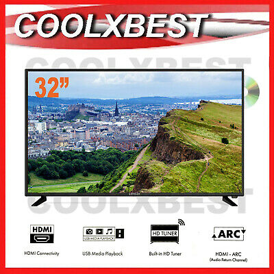AU169.98 • Buy RFB LINSAR 32  HD DIGITAL LED LCD TV W DVD PLAYER & USB PVR MEDIA 3x HDMI ARC