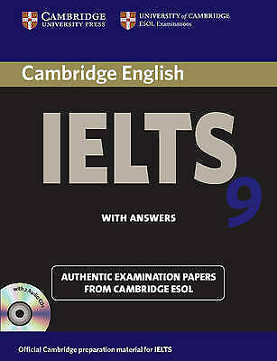 £9.99 • Buy Cambridge IELTS 9 Self-study Pack (Student's Book With Answers With CD