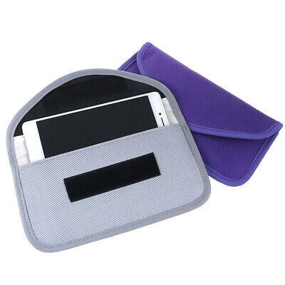 RF Signal Blocker Anti-Radiation Shield Case Bag Pouch For Mobile Phone ZT • 4.53£