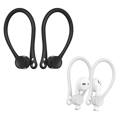 $ CDN6.89 • Buy Soft Silicone Sports Anti-lost Earhook Holder Ear Hook For Apple AirPods 2 Pair