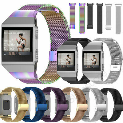 AU15.99 • Buy For Fitbit Charge Ionic Metal Stainless Steel Strap Replace Milanese Smart Band