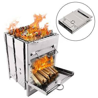 £14.59 • Buy Portable Camping Cooking BBQ Stove Picnic Cooker Backpacking Outdoor Equipment