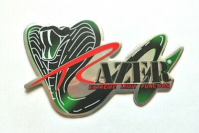Razer 3d Heatproof Exhaust Badge Sticker Graphic Decal Superbike Silencer • 4.95£