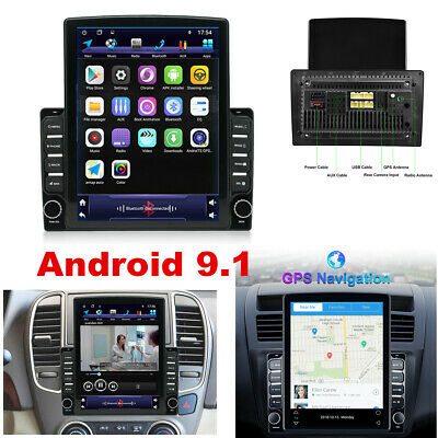 $170.90 • Buy Android 9.1 HD 9.7inch 2DIN Car Stereo Radio Player WIFI GPS Mirror Link OBD