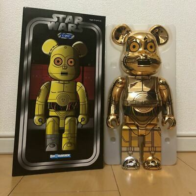 $890 • Buy Bearbrick BE@RBRICK 400% Star Wars C3Po 1000 Limited Collabo Initial Stussy