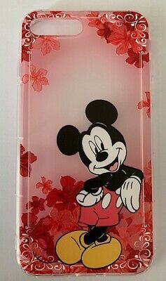 AU14.45 • Buy NEW IPhone 7/8 Plus Disney Red Mickey Mouse Silicon Soft Phone Case