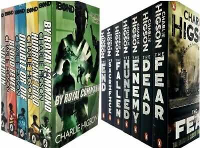 £29.84 • Buy Charlie Higson The Enemy And Young Bond Series 12 Books Collection Set, Charlie