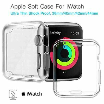 AU7.99 • Buy Full Cover TPU Case IWatch Screen Protector For Apple Watch Series 5 4 3/ 2 / 1