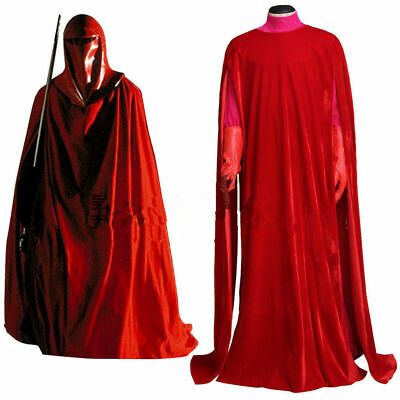 £46.33 • Buy Hot!Star Wars Imperial Emperor's Red Royal Guard Cosplay Costume Uniform