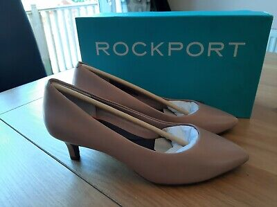 Rockport Kalila Pump Taupe UK Size 5m • 29.99£