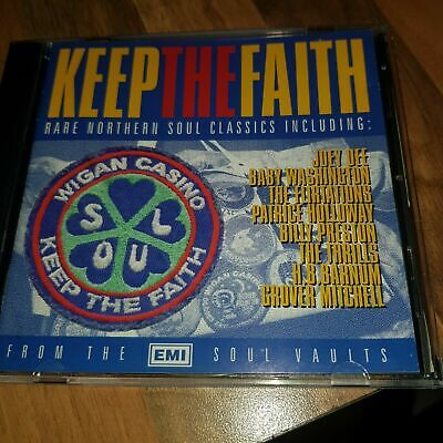 GOLDMINE  KEEP THE FAITH - 24 RARE NORTHERN SOUL CLASSICS Brand New And Sealed • 7.99£