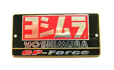 Yoshimura Gp Force 3d Heatproof Exhaust Badge Sticker Graphic Decal Silencer • 4.95£