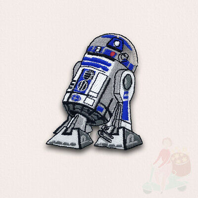 STAR WARS Movies Iron Or Sew On Embroidered Patches - R2D2 • 1.98£